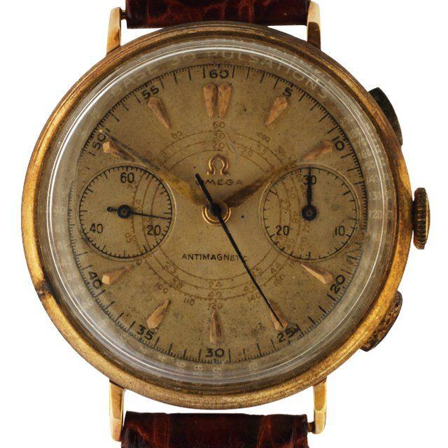1942 Omega Chronograph Tachymeter Pulsometer cal. 33.3