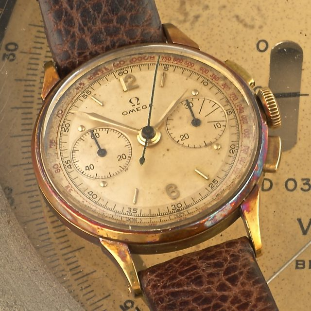 1944 Omega Chronograph Tachymeter 27CH