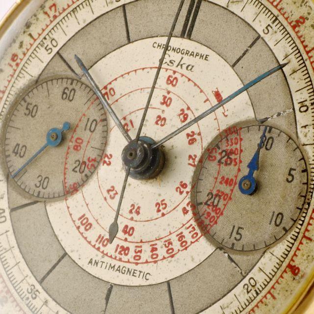 1938 Eska Chronograph