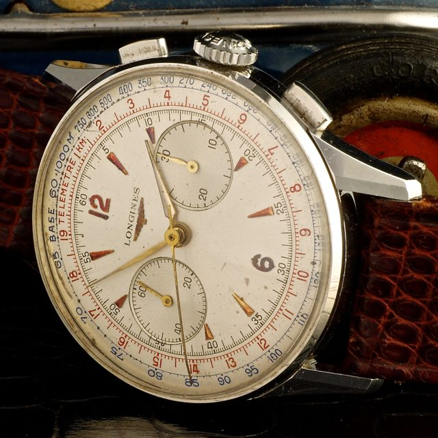 Longines 30CH Fly-back