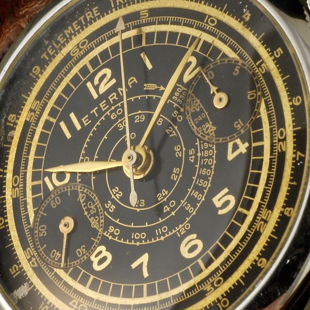 1950 Eterna Chronograph