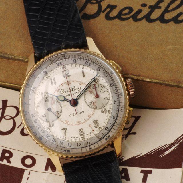 Breitling Chronomat 769 18K gold