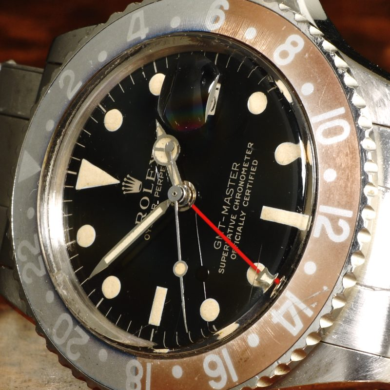 1965 Rolex GMT gilt gloss dial ref. 1675