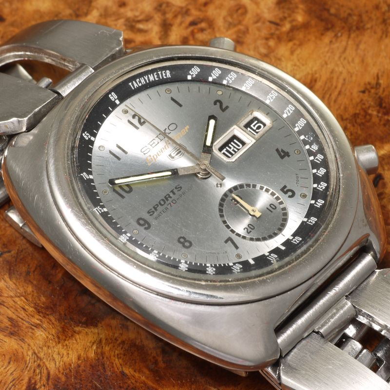 Seiko 5 Speed Timer ref. 6139-7010