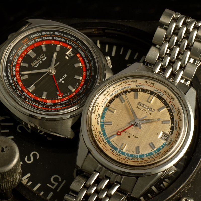 Seiko World timer