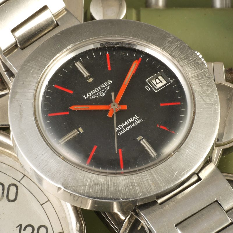 1970 Longines Admiral Disco Volante High Beat