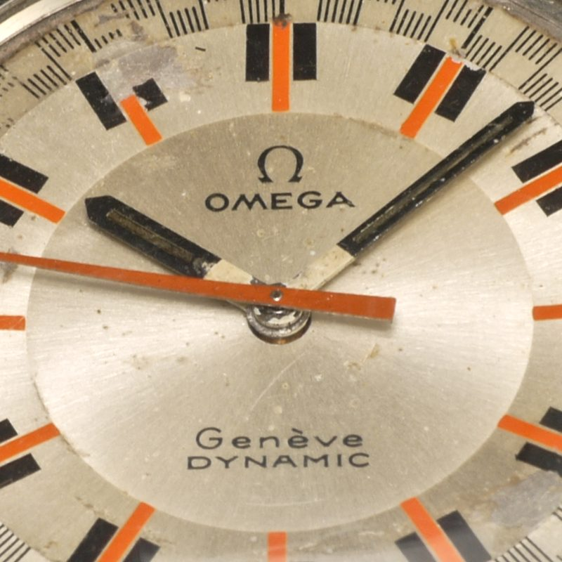 1969 Omega Geneve Dynamic Racing track dial