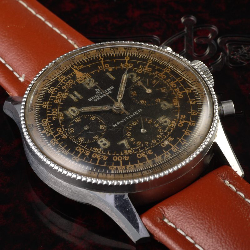 1955 first generation Breitling Navitimer 806