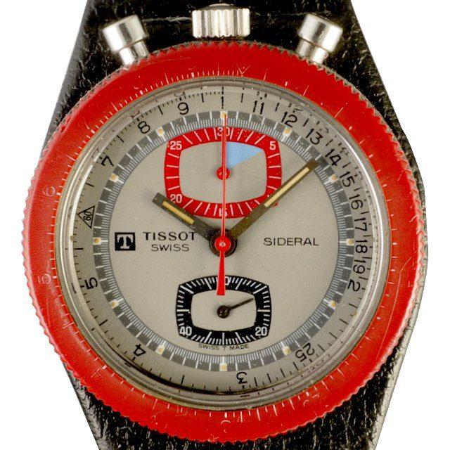 1972 Tissot Sideral Chronograph Bullhead