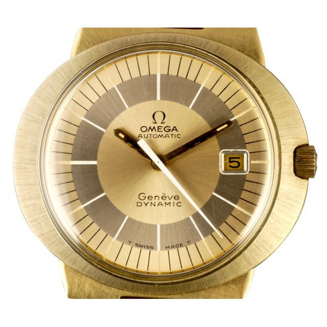 1969 Omega Geneve Dynamic gold plated case ref. CD 166.0039