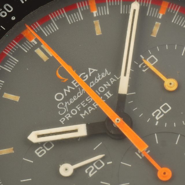 70 Omega Speedmaster Mark II ref. ST145.014 racing dial