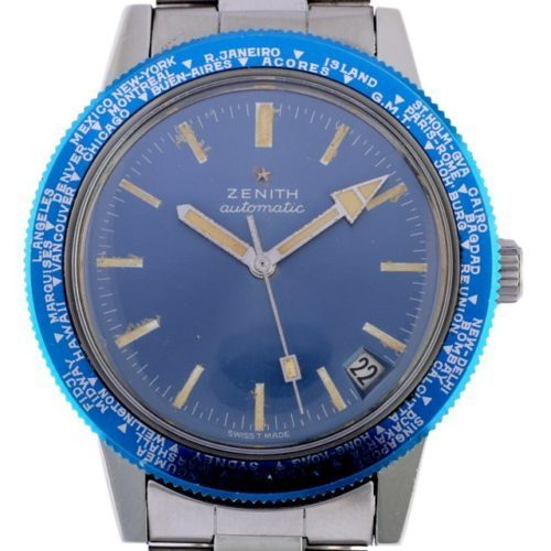 zenith Diver World timer