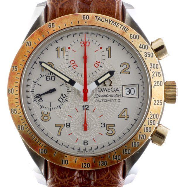 1996 Omega Speedmaster Automatic Date ref. DA 175.0083 gold tachymeter bezel