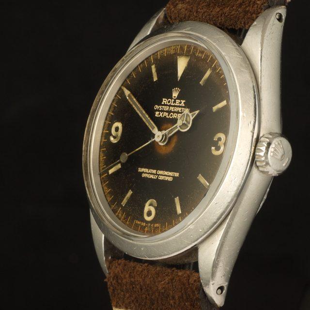 1965 Rolex Explorer ref. 1016, gilt & gloss dial