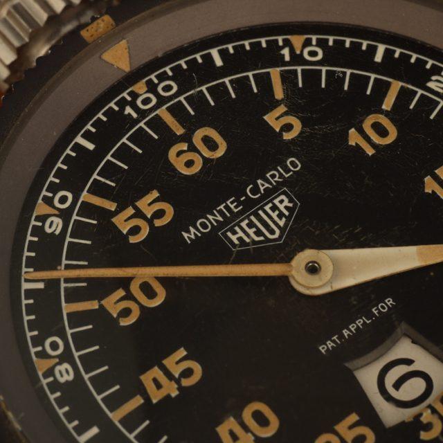 1958 Heuer Monte Carlo dashboard