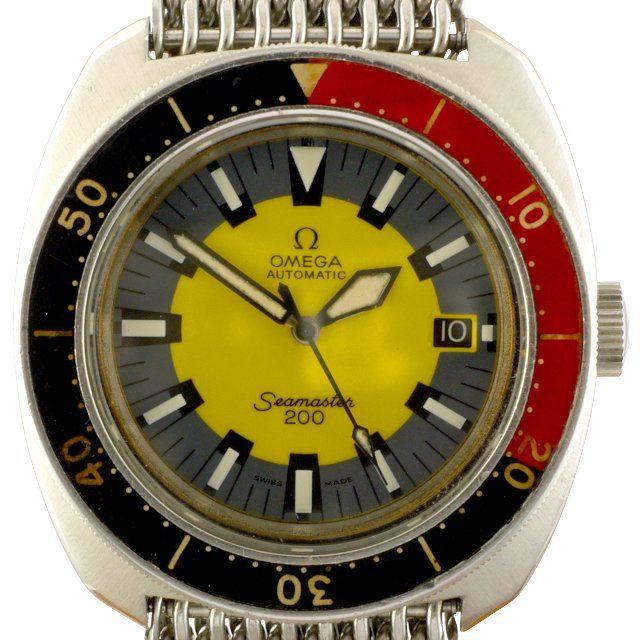 1970 Omega Seamaster 200 Banana ref. ST166.0068