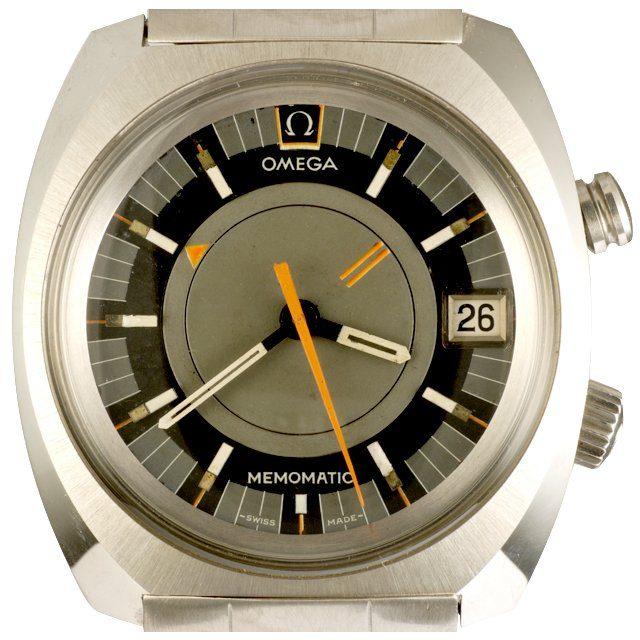 1970 Omega Memomatic ref. 166.072