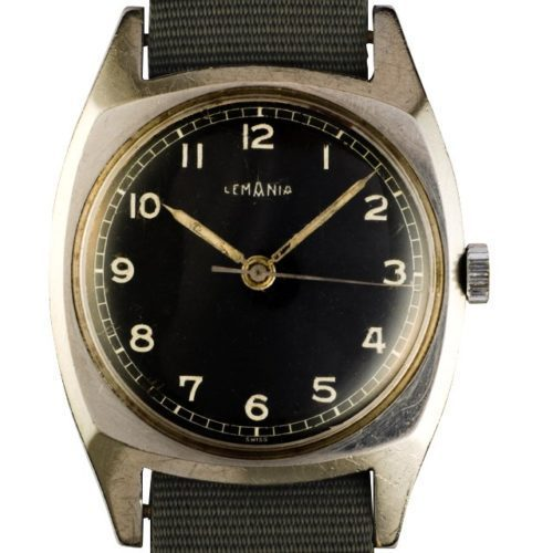 1938 Lemania Pilot watch