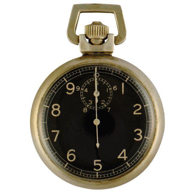 1943 Elgin World War II Military artillery timer