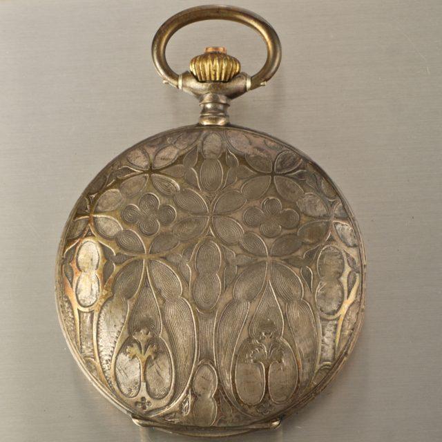 Omega artistic case pocket watch