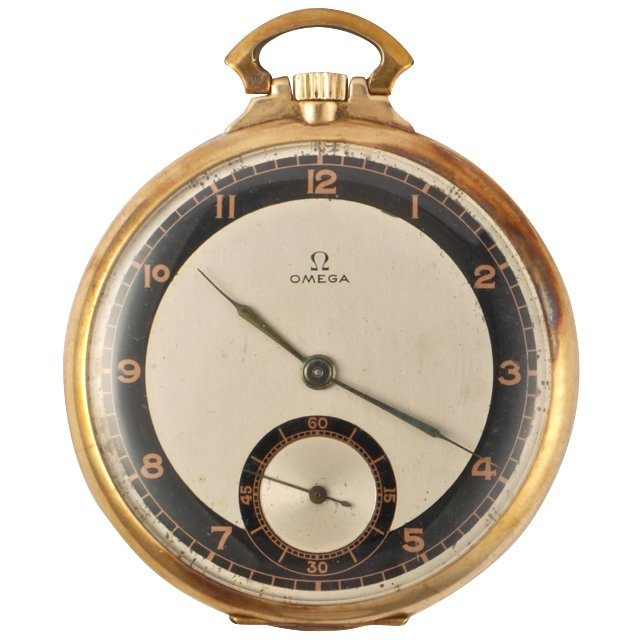 1933 Omega Fengos pocket watch