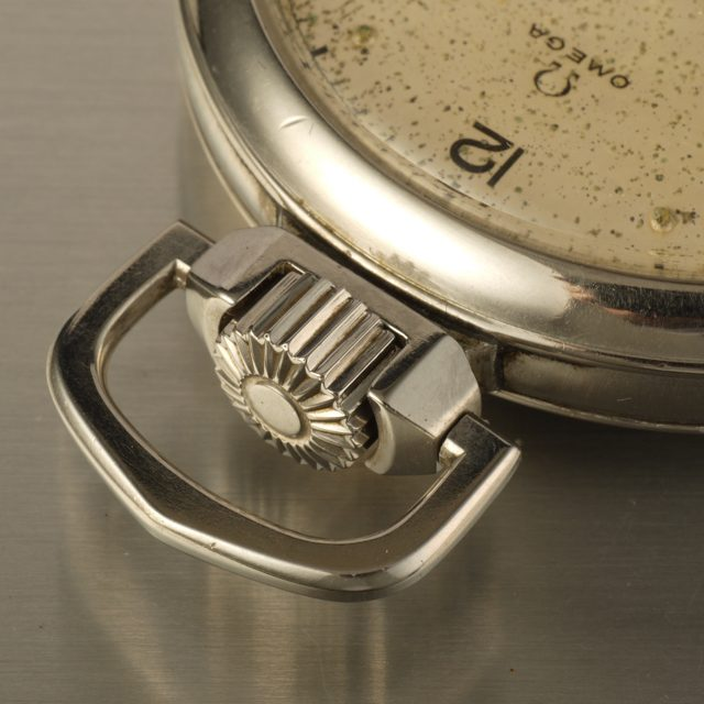 Omega water-tight pocket watch