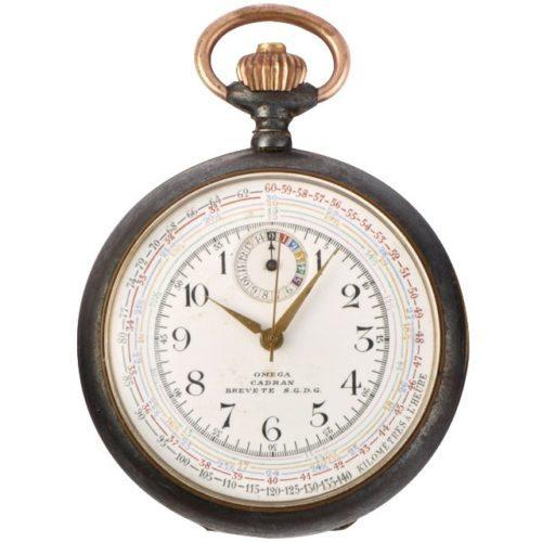 1918 Omega chrono-tachymeter ref. KCA 141 LV