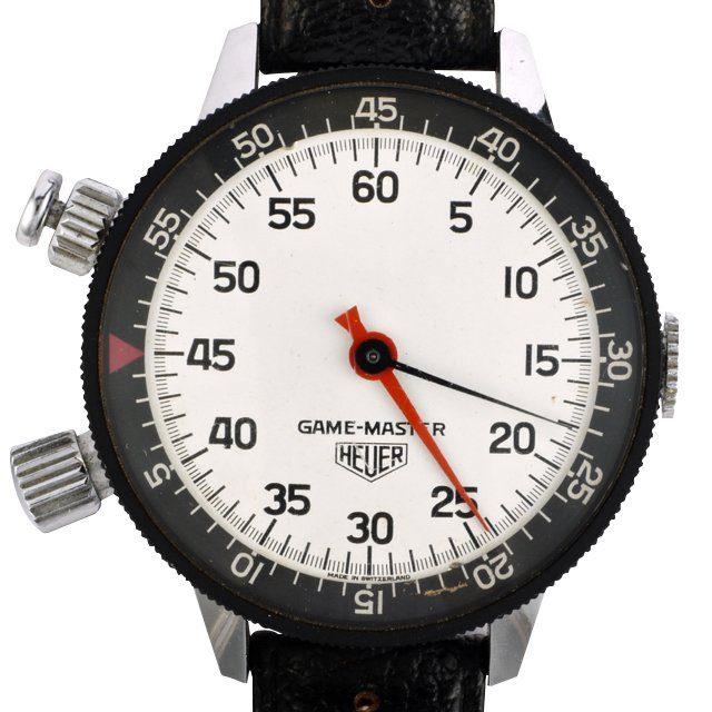 1959 Heuer Game Master wrist stopwatch ref. 502.050