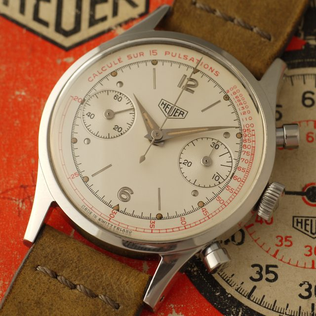 Heuer medical pulsations 3336P