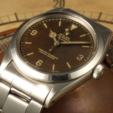 Rolex Explorer ref. 1016 tropical