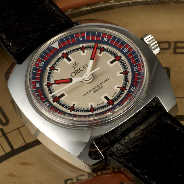 1970 Orion automatic Swiss watch