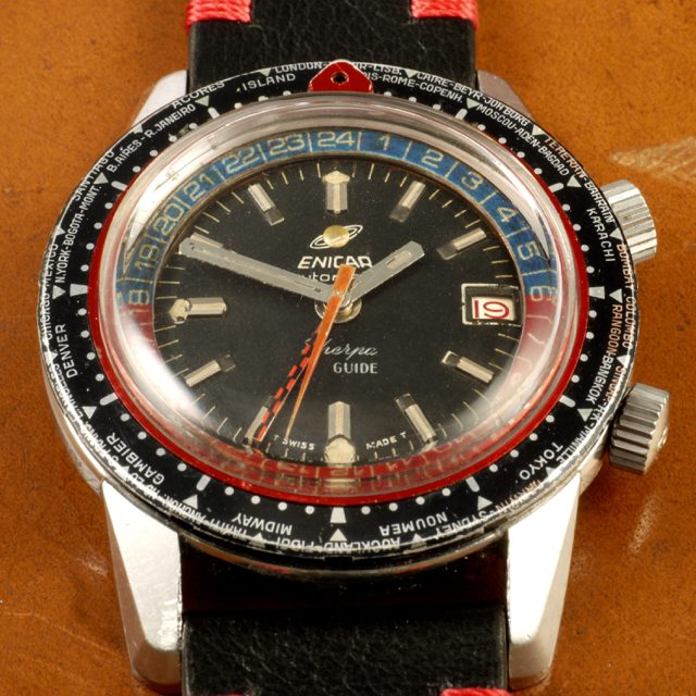 Enicar Sherpa Guide World time