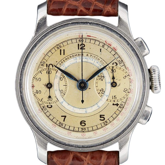 Abercrombie & Fitch Two Register Chronograph